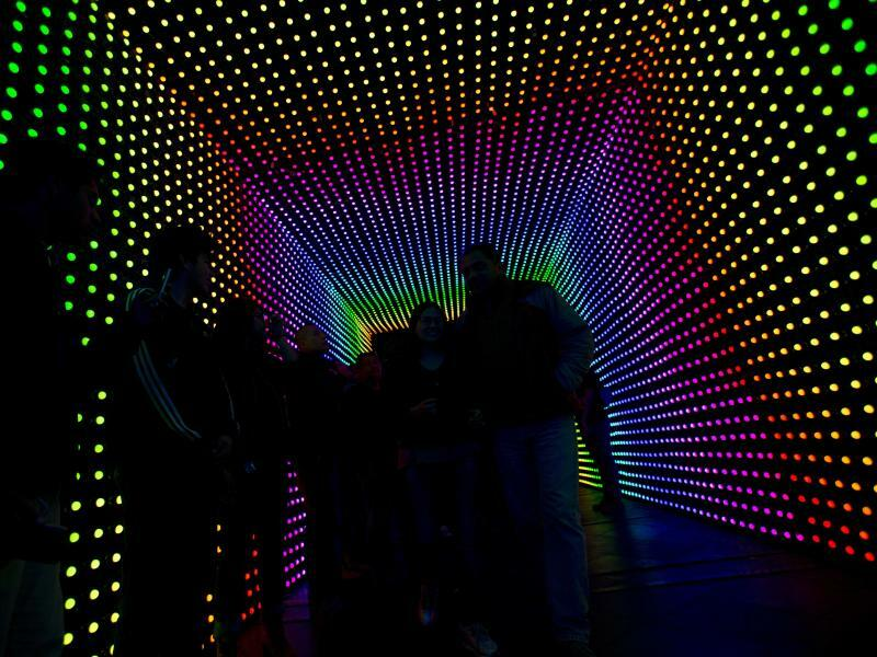 Licht im Tunnel - Foto: Rebecca Blackwell