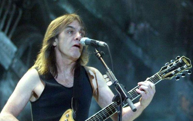 AC/DC-Gitarrist Malcolm Young - Foto: Zuma
