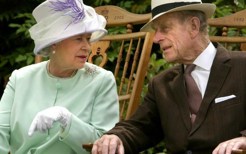 Königin Elizabeth und Prinz Philip - Foto: Fiona Hanson