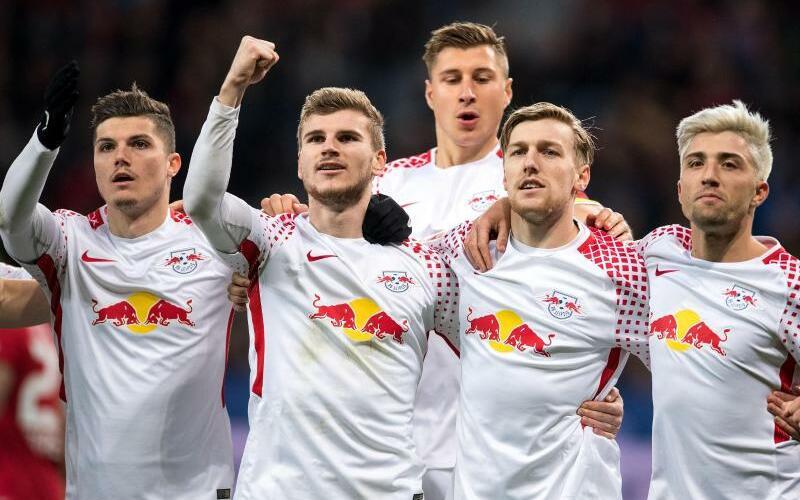 Motiviert - Foto: RB Leipzig will es gegen den AS Monaco richtig krachen lassen. Foto:Marius Becker