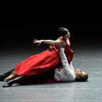 Anna Karenina - Bayerisches Staatsballett - Foto: Die Tänzer Ksenia Ryzhkova und Matthew Golding in der Bayerischen Staatsoper. Foto:Felix Hörhager