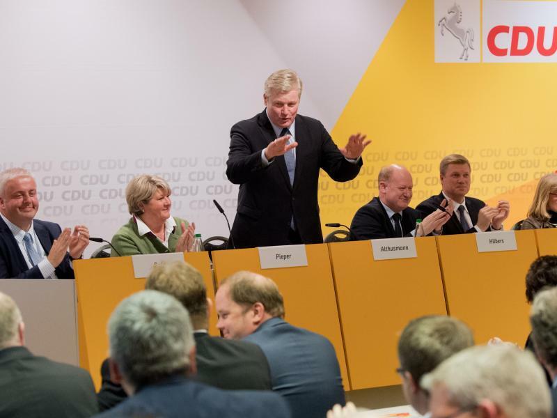 Parteitag CDU Niedersachsen - Foto: Julian Stratenschulte