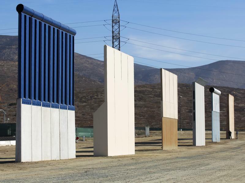 Grenzdesign - Foto: K.C. Alfred/San Diego Union-Tribune via ZUMA
