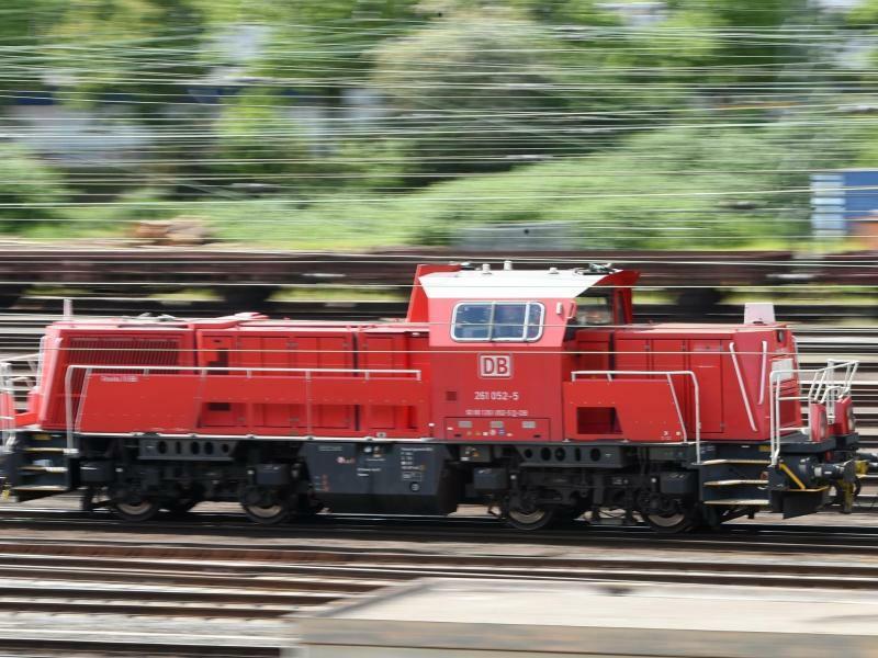 Diesel-Lok - Foto: Arne Dedert