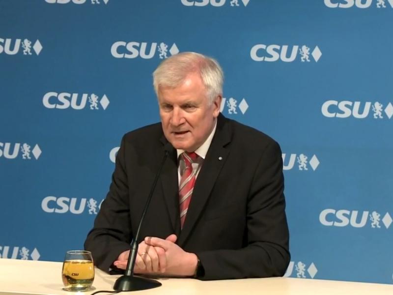 Horst Seehofer am 23.11.2017 - Foto: über dts Nachrichtenagentur