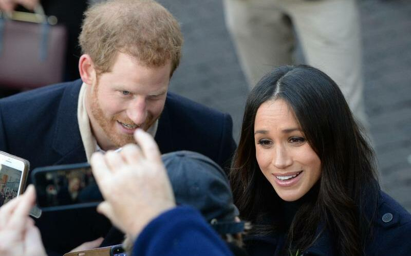 Prinz Harry & Meghan Markle - Foto: Joe Giddens