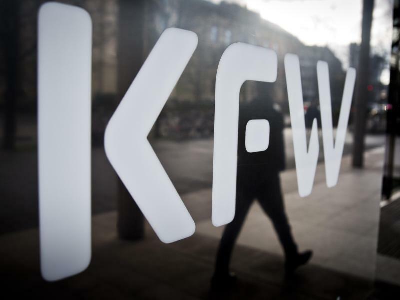 KfW-Bank - Foto: Frank Rumpenhorst/Symbolbild