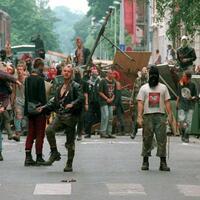 Randalierende Punks - Foto: Ho
