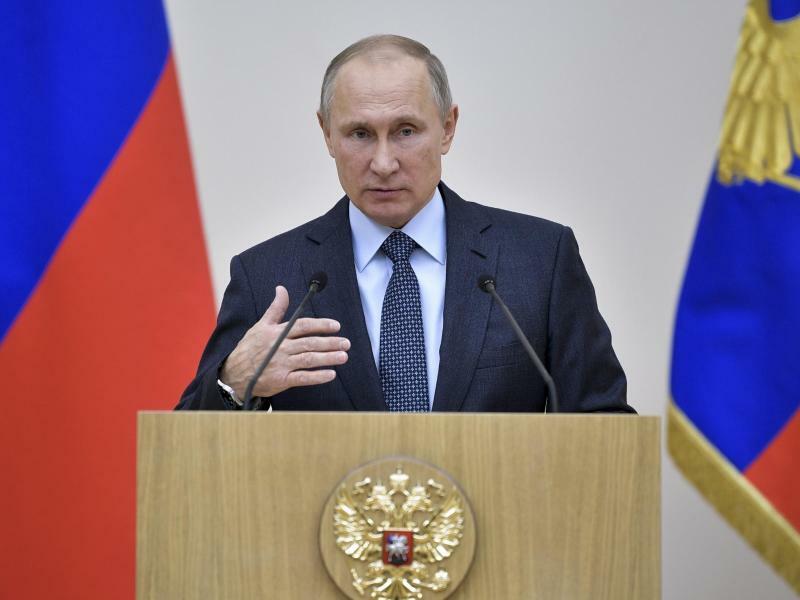 Wladimir Putin - Foto: Alexei Nikolsky/Pool Sputnik Kremlin/Archiv