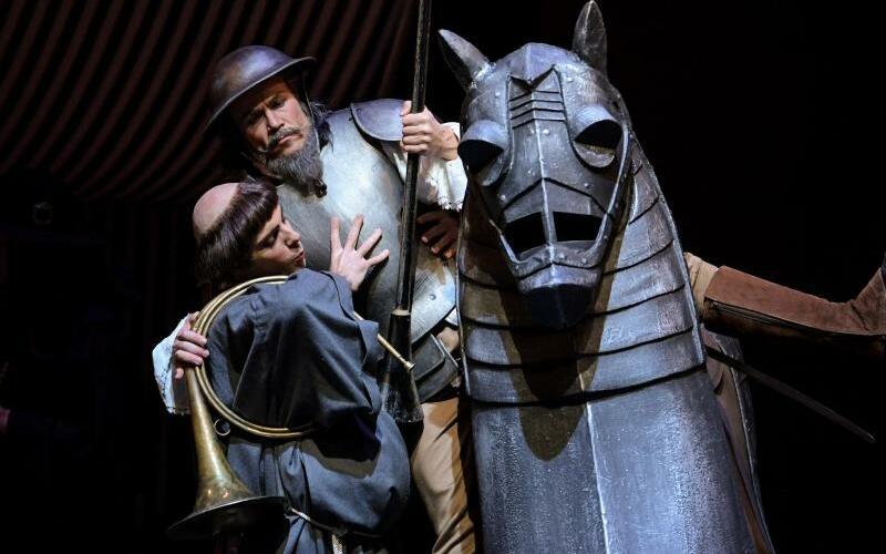 Premiere von Don Quixote - Foto: Axel Heimken
