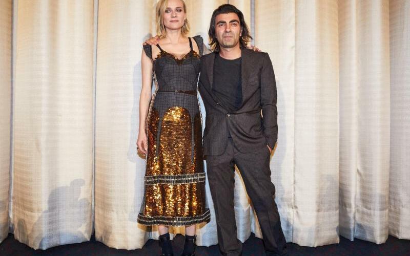 Aus dem Nichts - Foto: Der Regisseur und seine Hauptdarstellerin: Fatih Akin und Diane Kruger. Foto:Georg Wendt