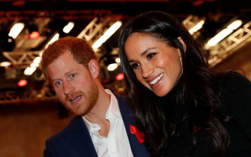 Prinz Harry und Meghan Markle - Foto: Adrian Dennis