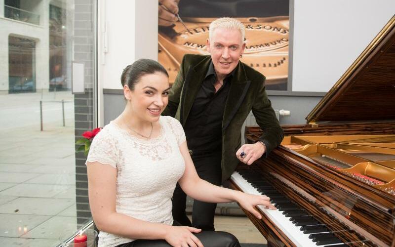 H.P. Baxxter + Olga Scheps - Foto: Daniel Reinhardt
