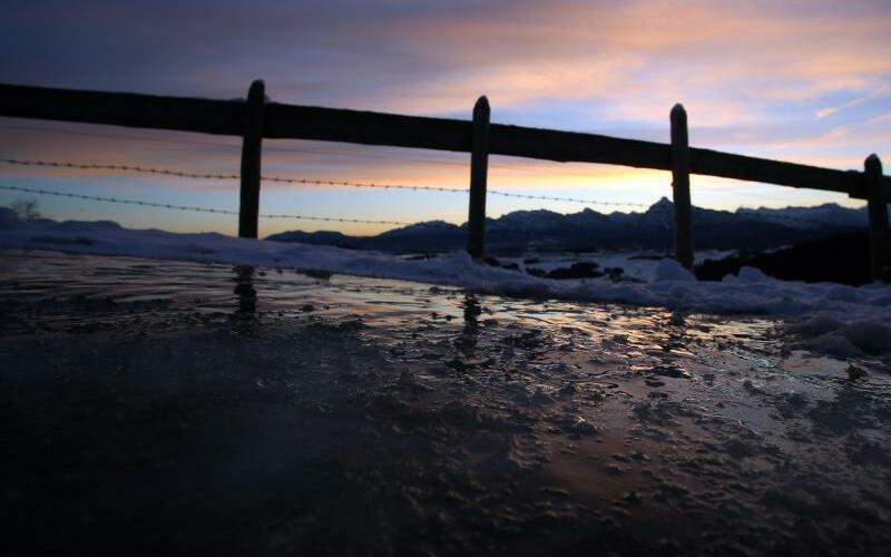 Sonne und Frost - Foto: Karl-Josef Hildenbrand