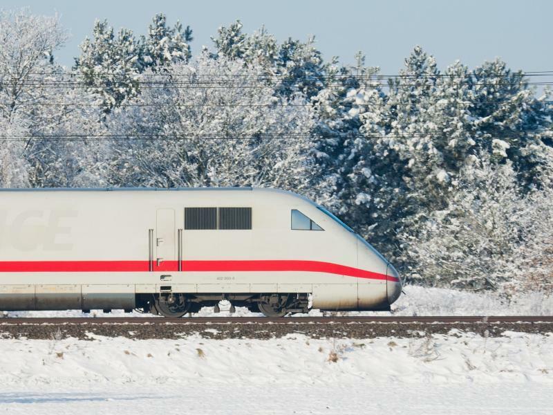 ICE - Foto: Julian Stratenschulte/Symbolbild