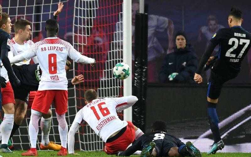 RB Leipzig - Hertha BSC - Foto: Hendrik Schmidt