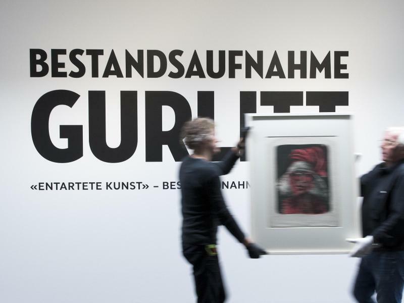 Gurlitt-Ausstellung in Bern - Foto: Peter Klaunzer