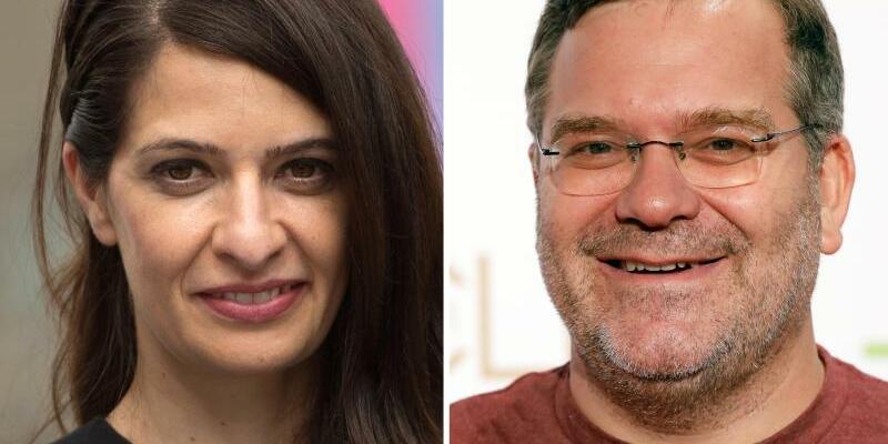 Linda Zervakis und Elton - Foto: Arno Burgi
