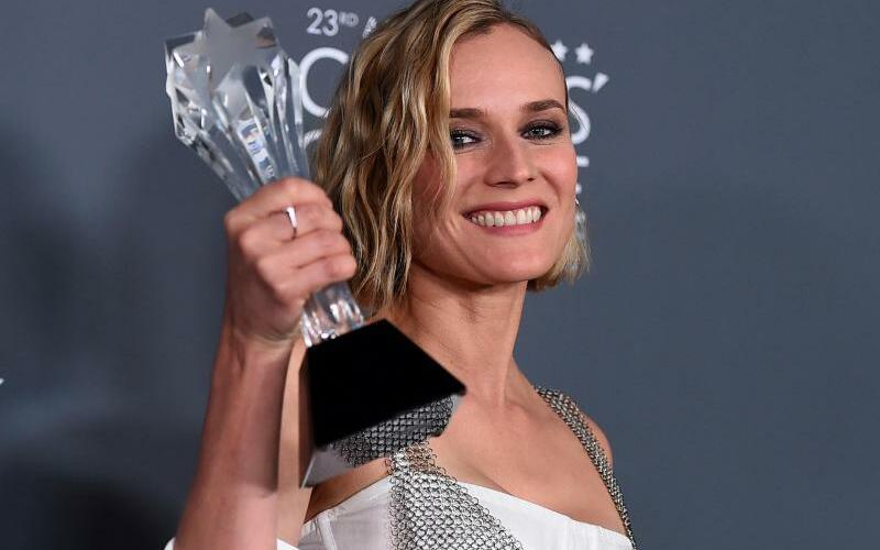 Diane Kruger - Foto: Diane Kruger nahm die Auszeichnung für den besten nicht-englischsprachigen Film entgegen. Foto:Jordan Strauss