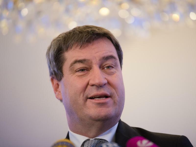 Markus Söder - Foto: Der designierte bayerische Ministerpräsident Markus Söder (CSU) plädiert für eine Begrenzung auf zwei Amtszeiten. Foto:Nicolas Armer