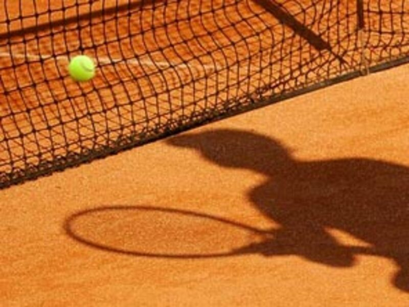 Tennisball und -netz - Foto: Fotolia.com / Isabelle Barthe