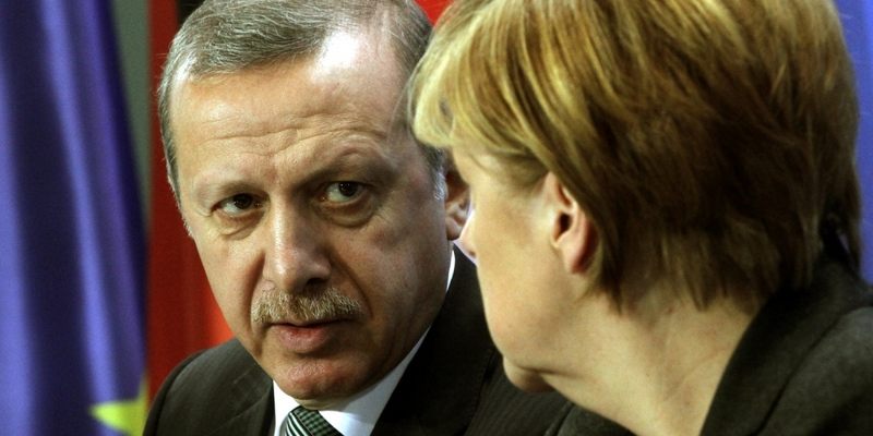 Recep Tayyip Erdogan und Angela Merkel am 04.02.2014 - Foto: über dts Nachrichtenagentur