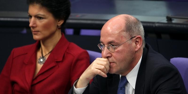 Gregor Gysi und Sahra Wagenknecht - Foto: über dts Nachrichtenagentur