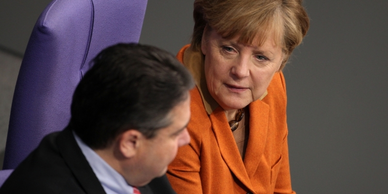 Angela Merkel und Sigmar Gabriel - Foto: über dts Nachrichtenagentur
