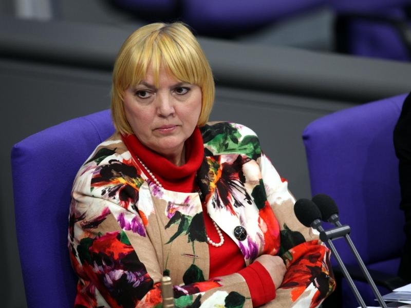 Claudia Roth als Bundestags-Vizepräsidentin - Foto: über dts Nachrichtenagentur