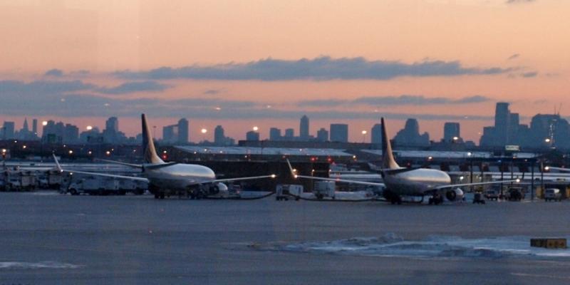 Flugzeuge am Flughafen Newark bei New York - Foto: über dts Nachrichtenagentur