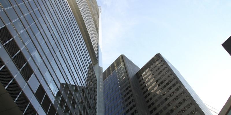 Banken-Hochhäuser - Foto: über dts Nachrichtenagentur