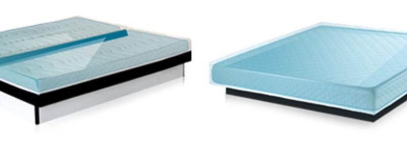 Abbildung 6: Bei einem Wasserbett ist die Matratze mit Wasser gefüllt und passt sich so dem Körper an. - Foto: © aqua-comfort.net