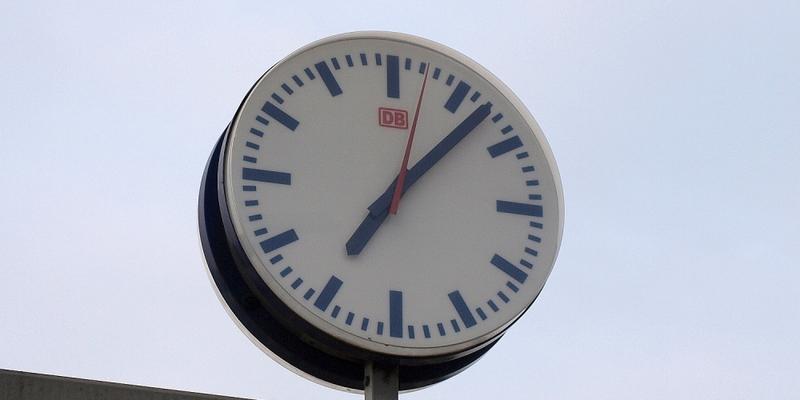 Bahnhofsuhr - Foto: über dts Nachrichtenagentur