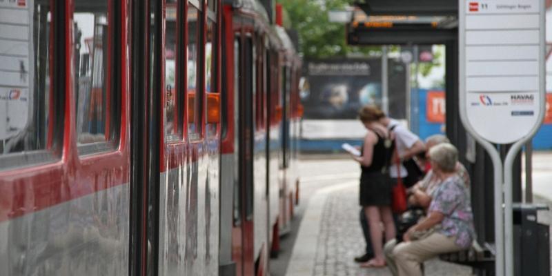 Straßenbahnhaltestelle - Foto: über dts Nachrichtenagentur