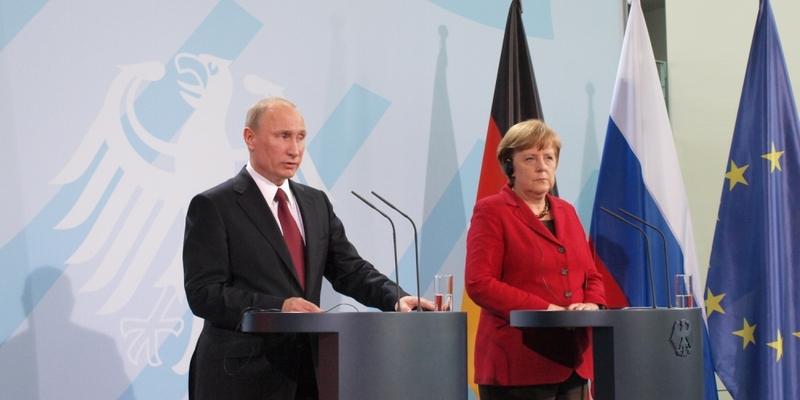 Angela Merkel und Wladimir Putin - Foto: über dts Nachrichtenagentur