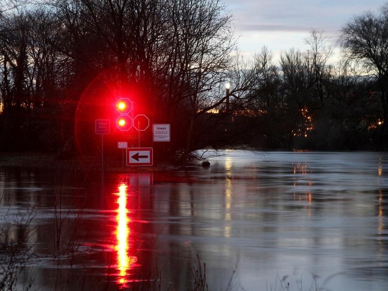 Durchfahrtsverbot an einem Fluss - Foto: über dts Nachrichtenagentur