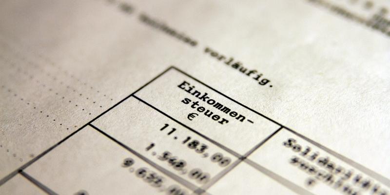Einkommensteuer - Foto: über dts Nachrichtenagentur