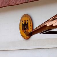 Schild einer deutschen Botschaft im Ausland - Foto: über dts Nachrichtenagentur