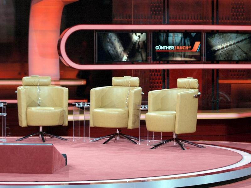 Leer Gästestühle in der Talkshow Günther Jauch - Foto: über dts Nachrichtenagentur