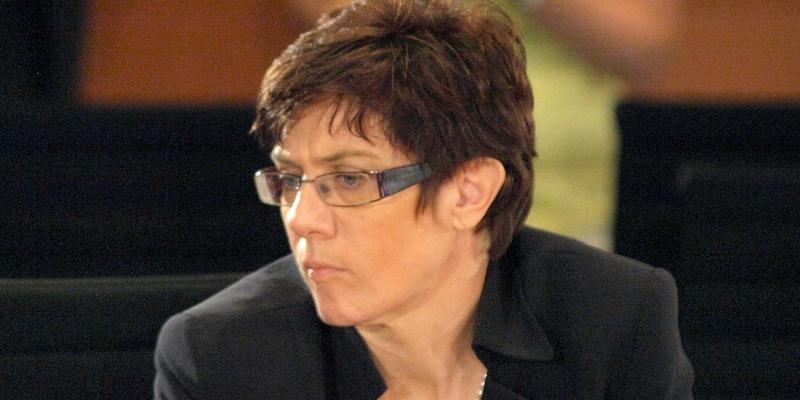 Annegret Kramp-Karrenbauer - Foto: über dts Nachrichtenagentur