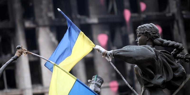 Ukrainische Flagge - Foto: über dts Nachrichtenagentur