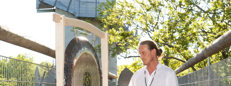Eine Gongmeditation - Foto: Bad Langensalza