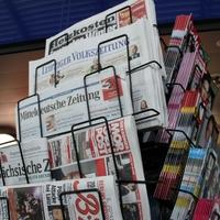 Zeitungen und Zeitschriften an einem Kiosk - Foto: über dts Nachrichtenagentur