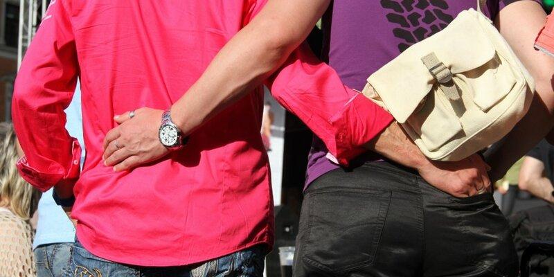 Ein schwules Pärchen - Foto: über dts Nachrichtenagentur