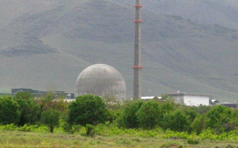 Schwerwasserreaktor im iranischen Arak - Foto: über dts Nachrichtenagentur