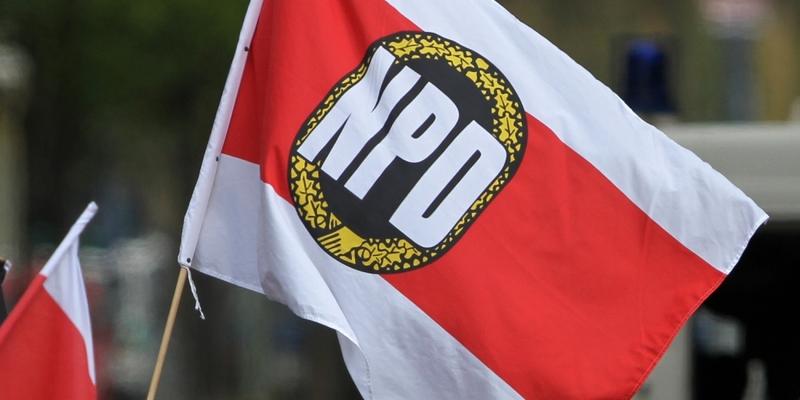 NPD-Fahne - Foto: über dts Nachrichtenagentur