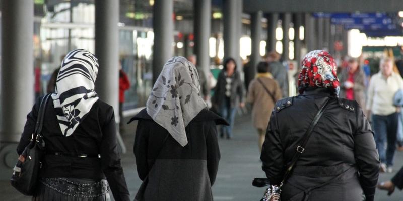 Kopftuchträgerinnen - Foto: über dts Nachrichtenagentur
