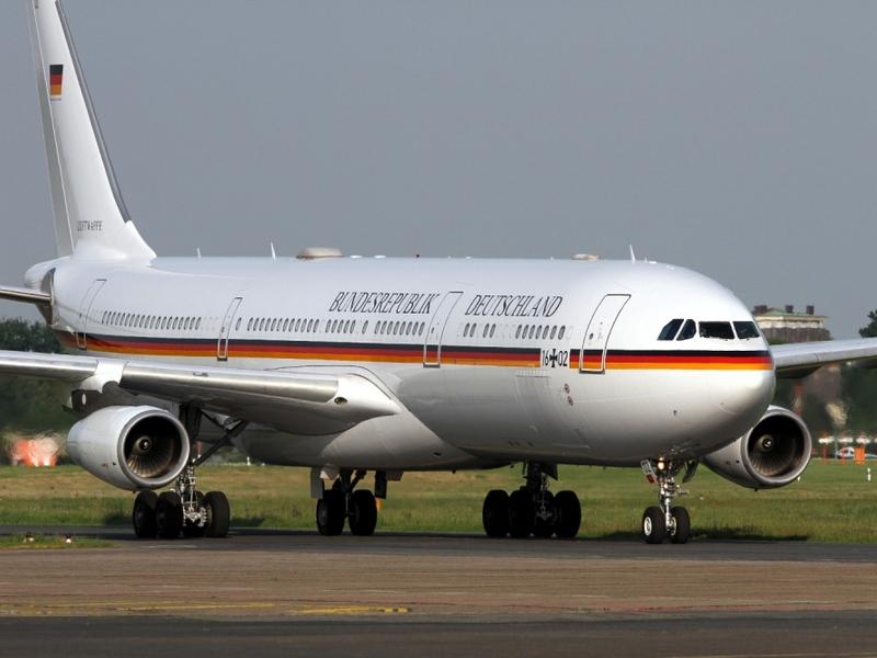 Regierungsjet A340-313X VIP Theodor Heuss der Luftwaffe - Foto: über dts Nachrichtenagentur