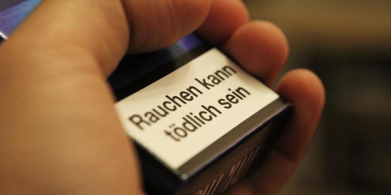 Raucherwarnung auf Zigarettenschachtel - Foto: über dts Nachrichtenagentur