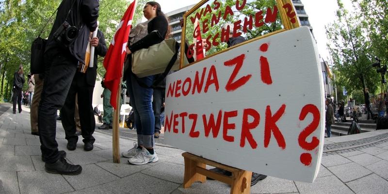 Proteste beim NSU-Prozess vor dem Strafjustizzentrum München - Foto: über dts Nachrichtenagentur